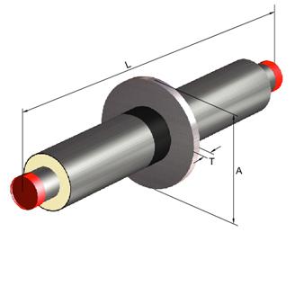 聚氨酯直埋保温管件(固定节)