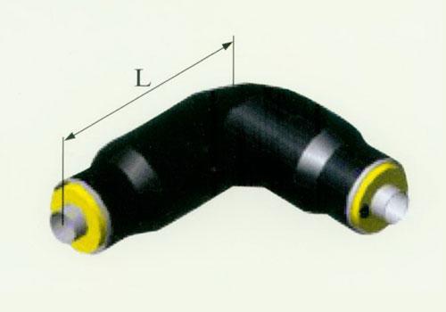 预制聚氨酯直埋保温管件(90°保温弯头)