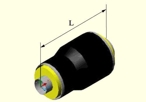 外滑动型蒸汽直埋保温变径